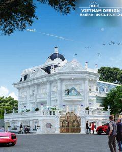 Thiết Kế Biệt Thự Anh Tâm Tại Khu Dân Cư – Quận 2 – Tp.HCM