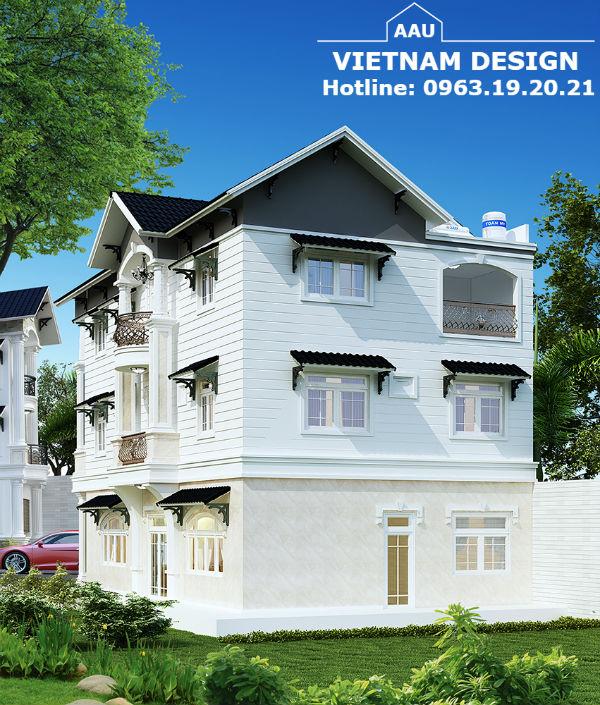 Thiết Kế Nhà anh Phan Xuân Hoàng ở Khu Nam Việt Á – Tp Đà Nẵng