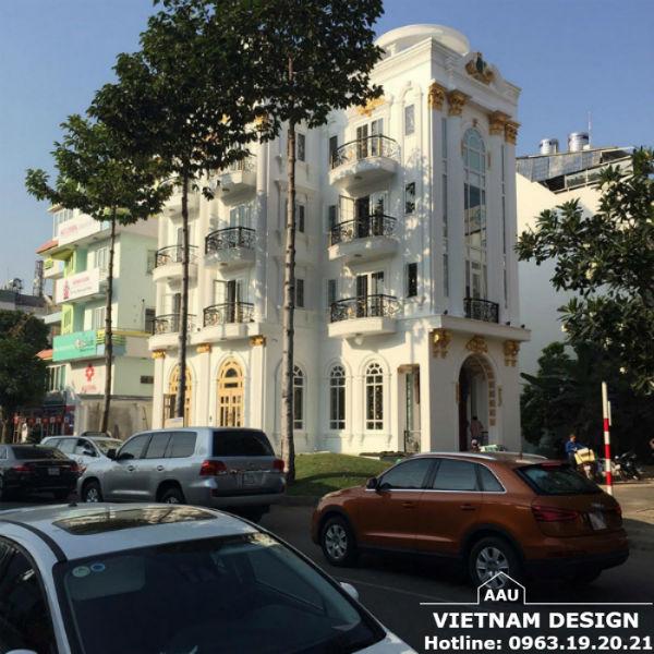 Thiết Kế Biệt Thự Chị Trần Thị Hải Yến Tại Phú Mỹ Hưng-Quận 7-Tp HCM