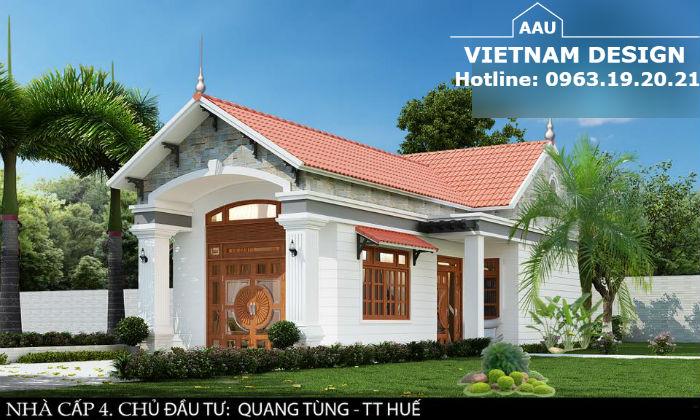 Thiết Kế Nhà Vườn Anh Quang Tùng Tại Tp-Huế