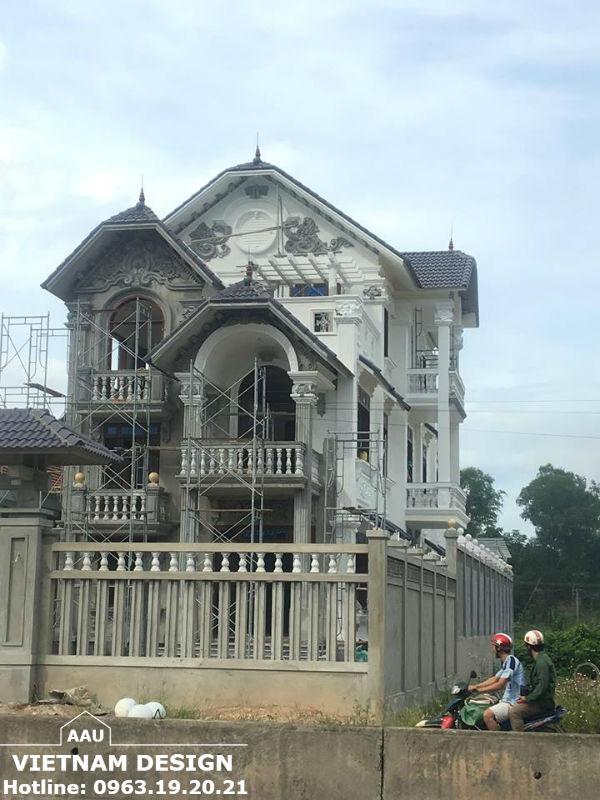 Thiết Kế Biệt Thự Chị Phương Tại QL 1 A Phú Lộc – Huế